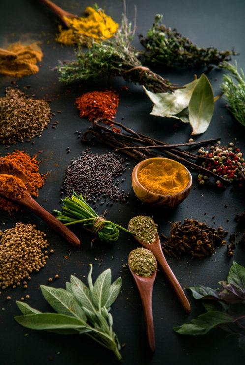 Herbs, Sea salt & Marinates