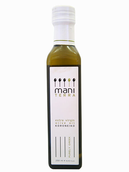Mani Terra Organic Extra virgin Olive oil 250ml