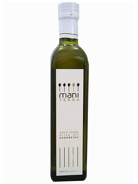 Mani Terra Organic Extra virgin Olive oil 500ml