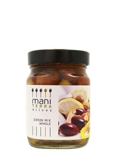 Mani Terra Greek mix olives 190g