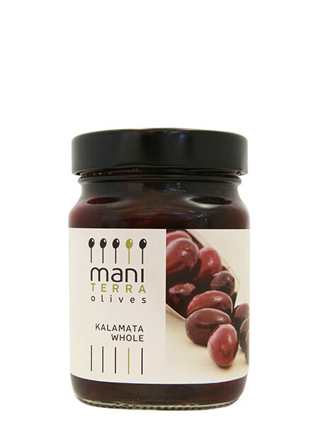 Mani Terra Kalamata Olives Whole 200g
