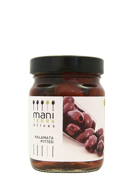 Mani Terra Kalamata Olives Pitted 190g