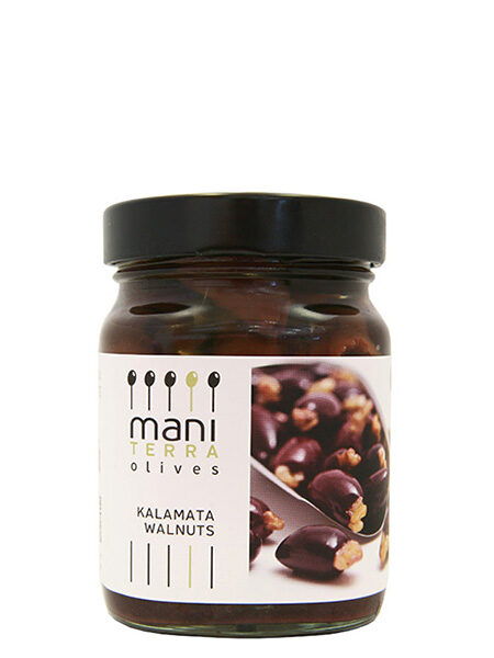 Mani Terra Kalamata Olives stuffed with Walnut 190g
