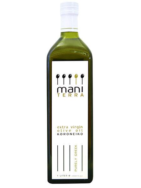 Mani Terra Organic Extra virgin Olive oil 1l