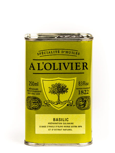 A L'Olivier Olive oil with Basil 250ml