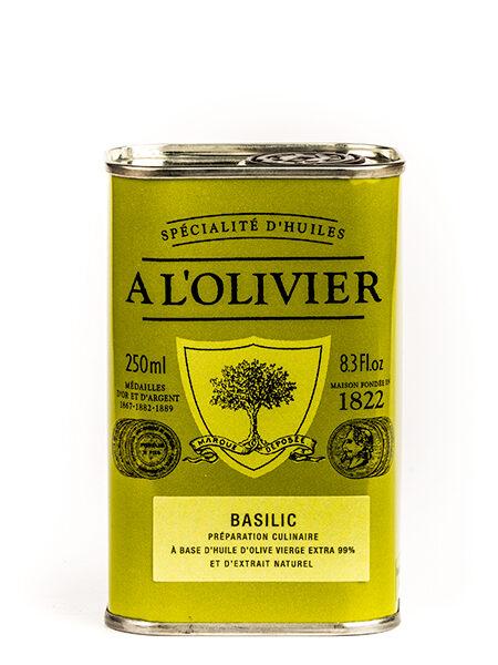 A L'Olivier Olive oil au Basilic 250ml