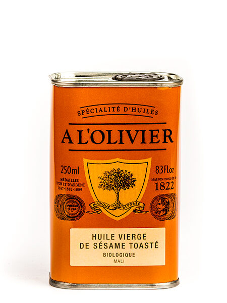 A L'Olivier Organic Toasted Sesame oil 250ml