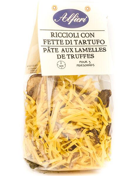 Alfieri Riccioli Pasta with Truffle pieces 250g