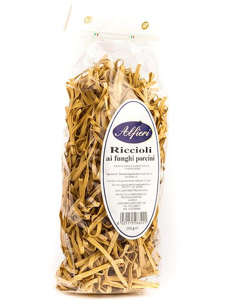 Alfieri Riccioli Pasta Mushrooms 250g