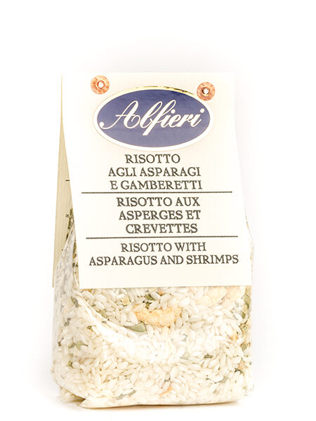 Alfieri Risotto with Asparagus & Shrimps 300g