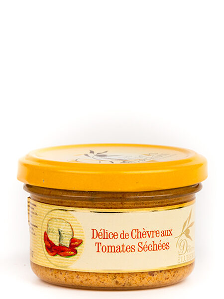 D?lices du Luberon Goat cheese Paste with Tomatoes 90g