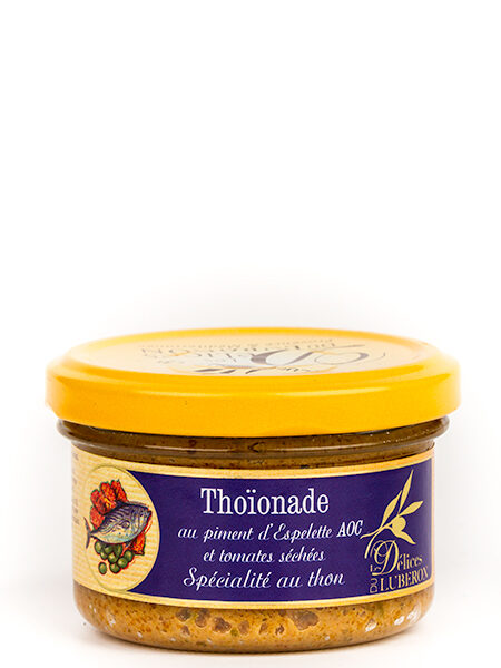 D?lices du Luberon Tuna Paste with sundried tomatoes 90g