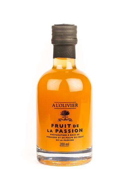A L'Olivier Vinegar with Passion Fruit 200ml