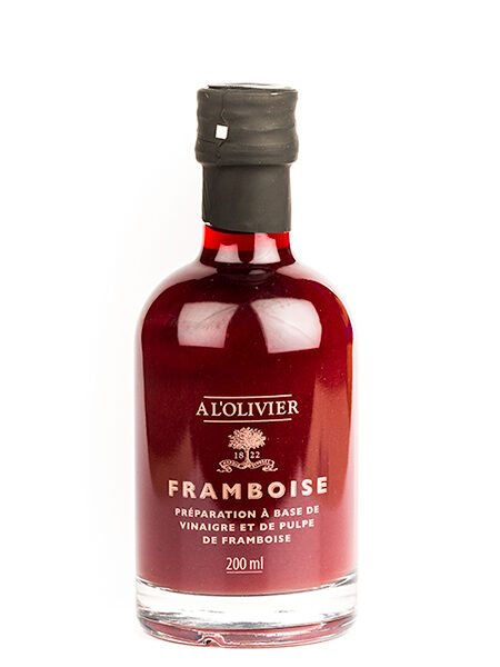 A L'Olivier Vinegar with Raspberries 200ml