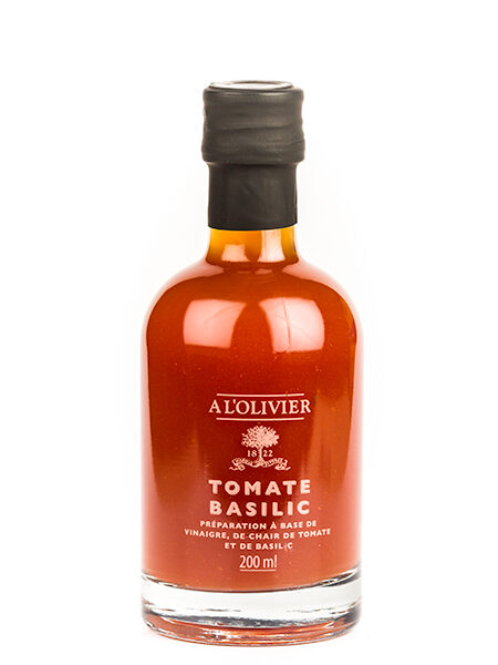 A L'Olivier Vinegar with Tomatoes & Βasil 200ml