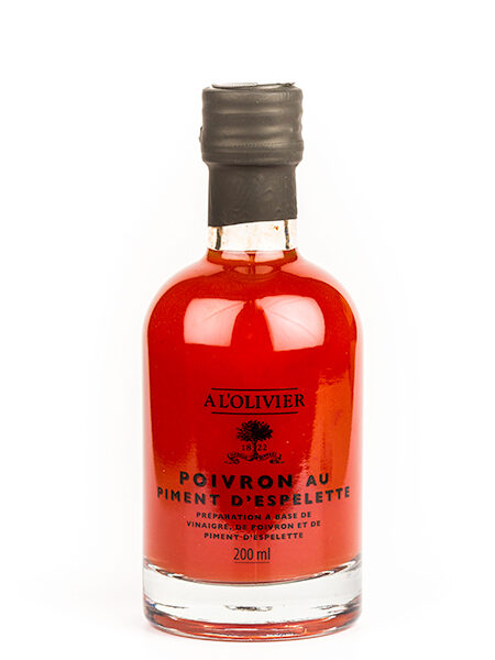 A L'Olivier Vinegar with Espelette peppers 200ml