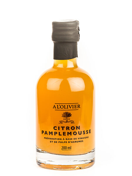 A L'Olivier Vinegar with Lemon&Grapefruit 200ml