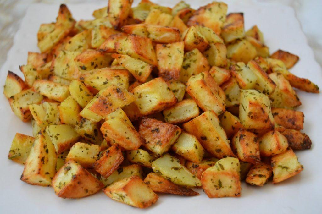 Pommes de terre au four nikols - Pommes de terre coupees au four ...