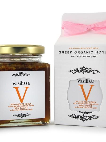 Vasilissa wild forrest royal jelly&pollen BIO 250g