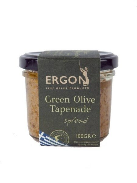Ergon tapenade d'olives vertes 100g