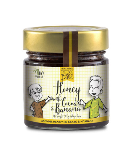 Vasilissa Bee bros honey with cocoa and banana 300g