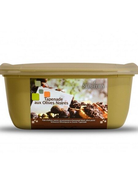 Meditea Tapenade Olives noires 1kg