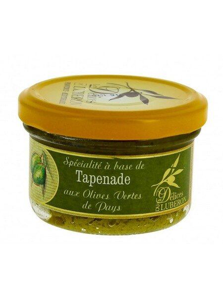 Luberon Tapenade d'olives vertes 90g