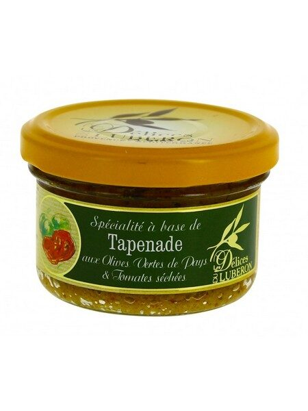 Lubéron Green tapenade with dried tomatoes