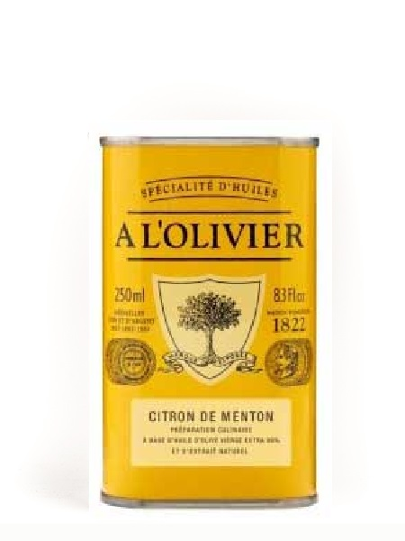 A l'olivier Olive oil with Lemon 250ml