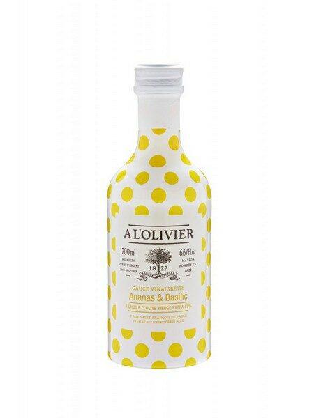SAUCE VINAIGRETTE - Ananas & Basilic