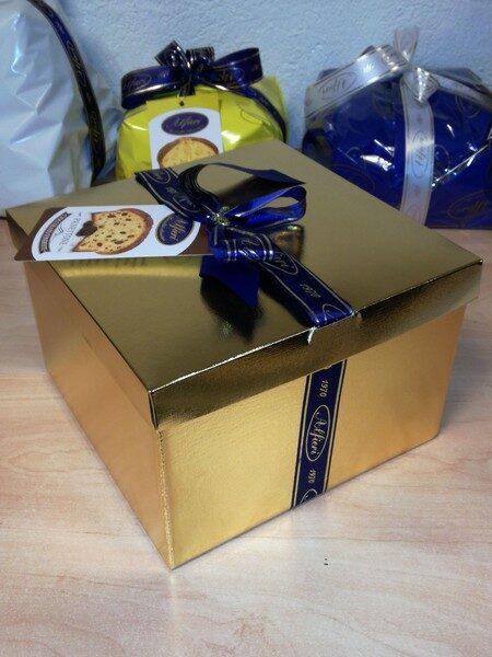 Alfieri panettone au chocolat & boîte