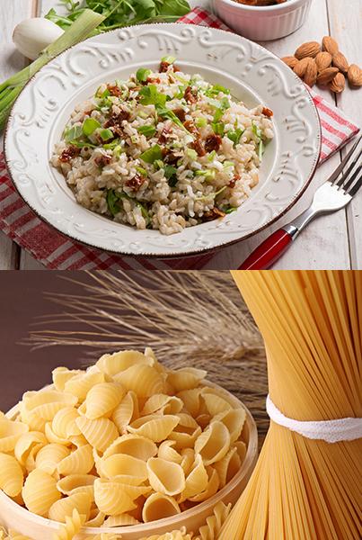 Pasta, Risotto & Polenta