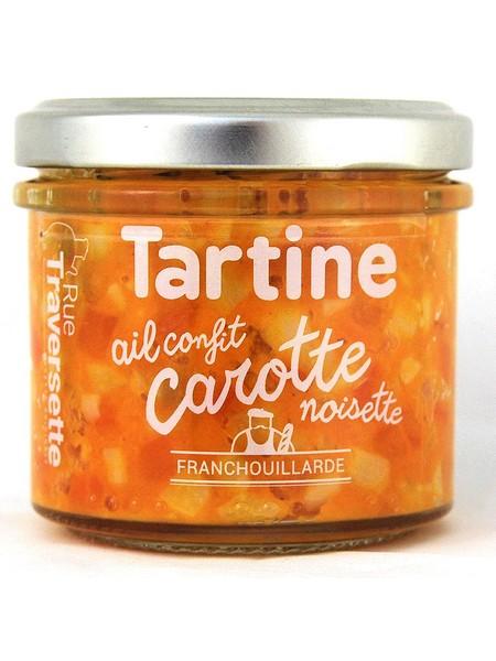 Rue Traversette Garlic confit-Carrots-Hazelnut 110g
