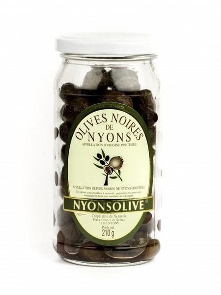 Vignolis AOP Nyons olives noires > 14 mm 210gr