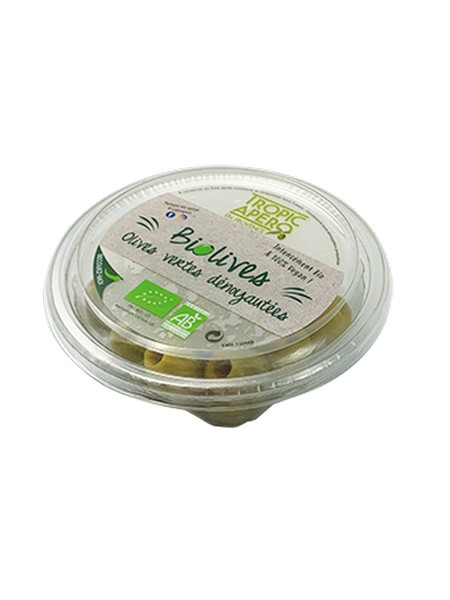 Tropic Apéro Green olives pitted BIO 110g