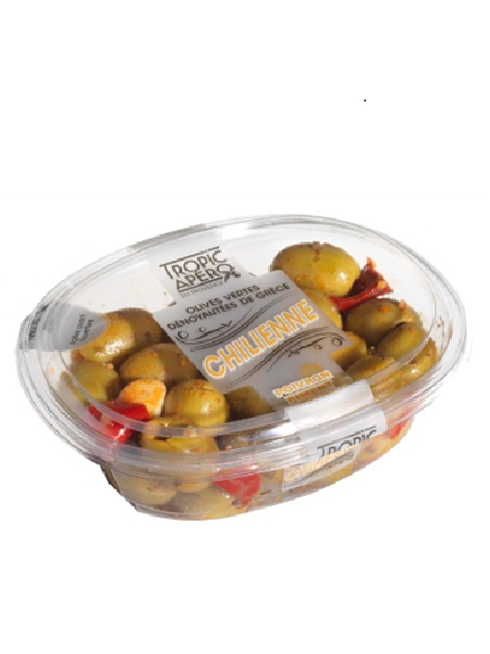 Tropic Apéro Green Olives à la Chilienne 220g