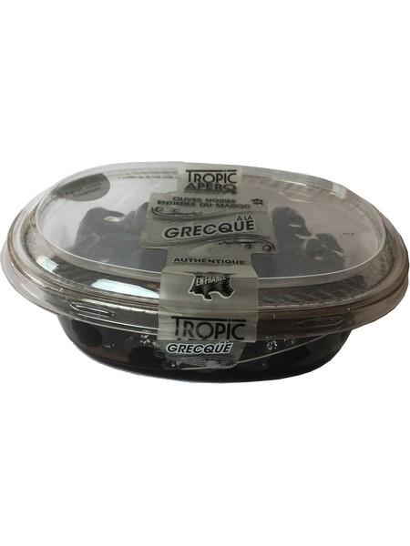 Tropic Apéro Black olives à la Grecque du Maroc 250g